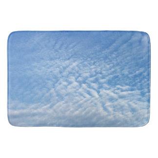 Cloud formations bath mat