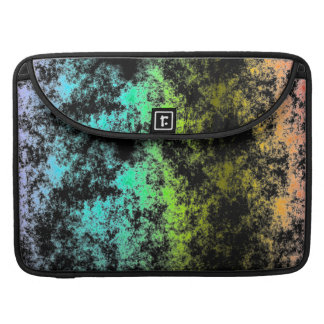 Cloud Galaxy Space Rainbow on Black Galaxies MacBook Pro Sleeves