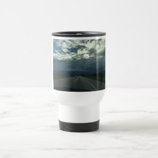 Cloud highway travel mug