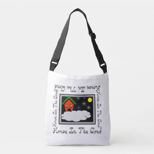 CLOUD HOUSE CROSS-BODY BAG, i Art & Designs Crossbody Bag