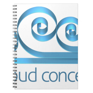 Cloud Icon Concept Notebooks
