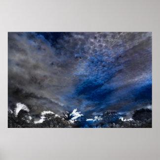 Cloud Impressions Poster
