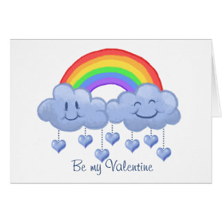 Cloud love Valentine's day Card
