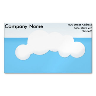 Cloud Magnetic Business Card