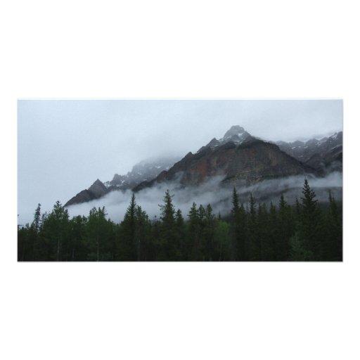 Cloud Mountain Photocard Customized Photo Card