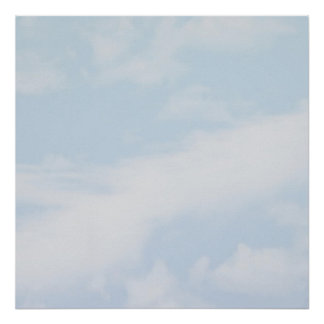 Cloud mural poster customizable35x35
