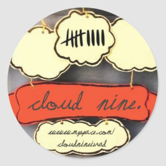 Cloud nine EP sticker
