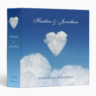 Cloud Nine Love Wedding Planner Binders