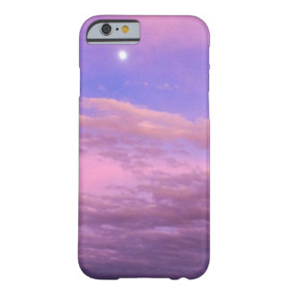 Cloud of blue sky and pink. The sun which it is in Barely There iPhone 6 Case
