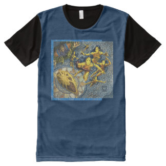 Cloud of Fairies Panel T-Shirt