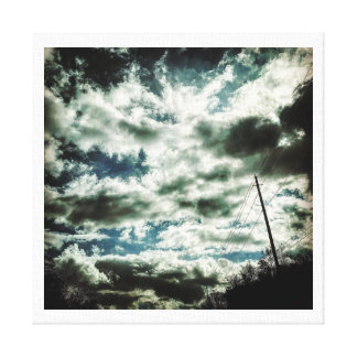 Cloud Painting Canvas Print