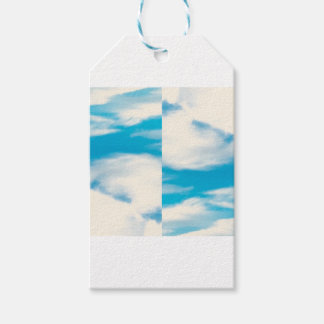 Cloud Pattern Gift Tags