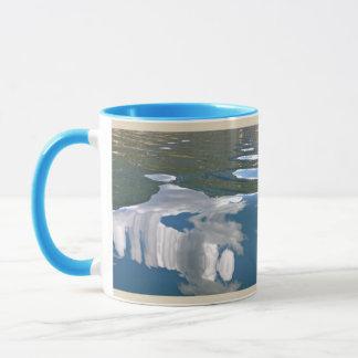 Cloud Reflections Mug -- Two Toned