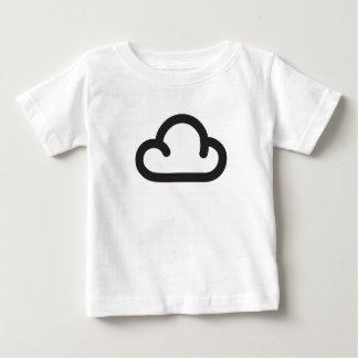 Cloud: Retro weather forecast symbol Baby T-Shirt
