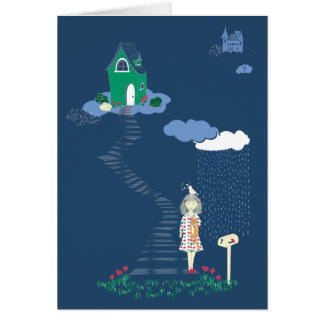 Cloud Seven Card