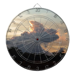 Cloud Shark Dartboard