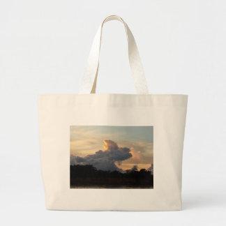 Cloud Shark Large Tote Bag