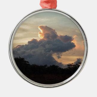 Cloud Shark Metal Ornament