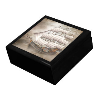 Cloud Ship Gift Box