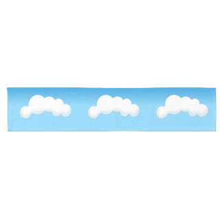 Cloud Short Table Runner