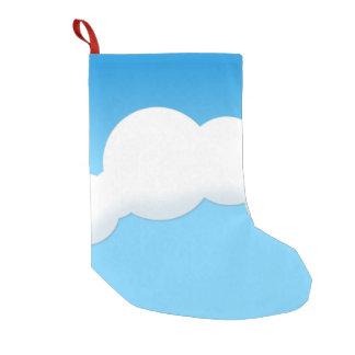 Cloud Small Christmas Stocking