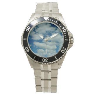Cloud Stainless Steel Bracelet Wristwatch