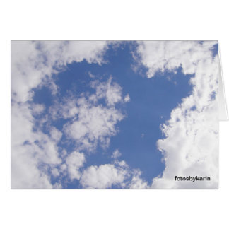 Cloud star, map: BE the star OF your life Card