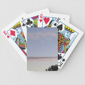 Cloud Streak Bicycle Playing Cards