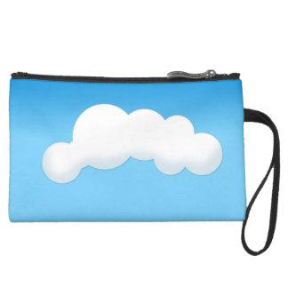 Cloud Suede Wristlet