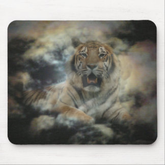 Cloud Tiger Mouse Pad