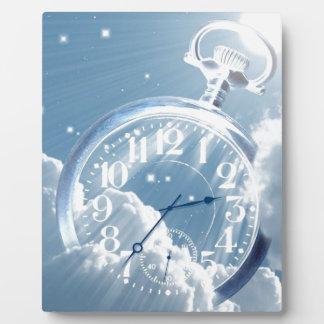 Cloud Time Plaque