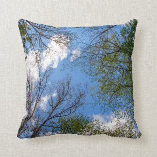 Cloud Tree Canopy Pillow