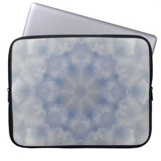 Cloudburst Mandala Notebook Sleeve Laptop Sleeve