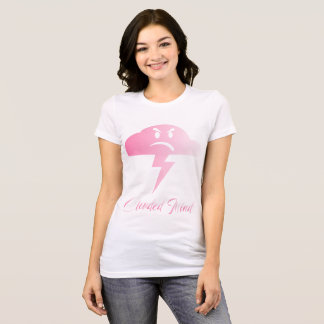 clouded mind pink T-Shirt