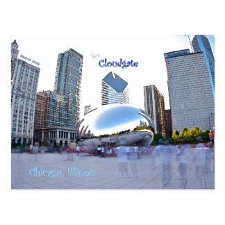 Cloudgate - Chicago, Illinois Postcard