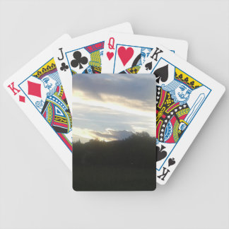 Clouds 1 bicycle playing cards