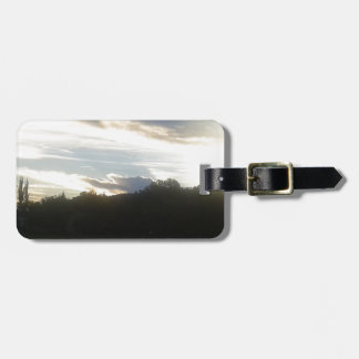 Clouds 1 luggage tag