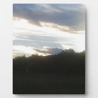 Clouds 1 plaque