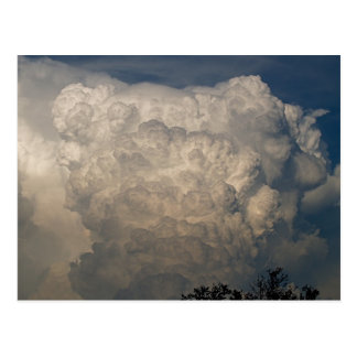 Clouds 1 postcard