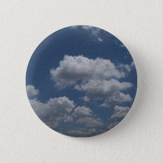 Clouds 2 Inch Round Button