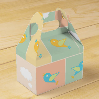 Clouds and birds favor box