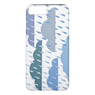 Clouds and raining scene iPhone 7 plus case