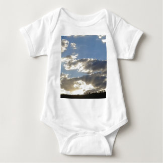 Clouds And Sun Baby Bodysuit