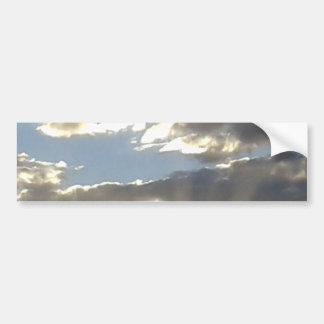 Clouds And Sun Bumper Sticker