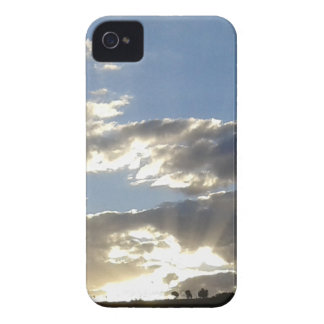 Clouds And Sun iPhone 4 Case-Mate Cases