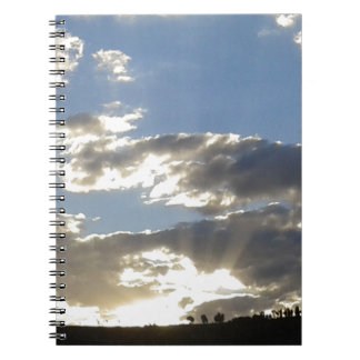 Clouds And Sun Notebook
