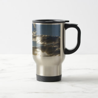 Clouds And Sun Travel Mug