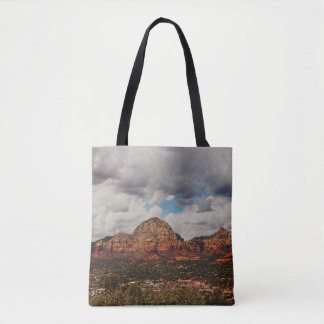 Clouds as they roll into Sedona Tote Bag