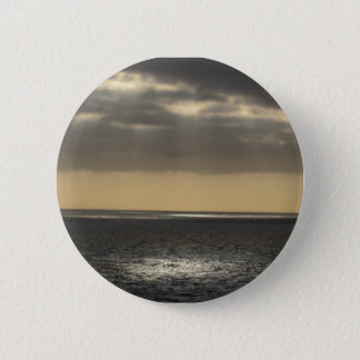 Clouds at Sea 2 Inch Round Button
