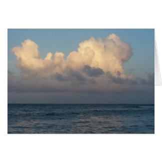 Clouds at Sea Card